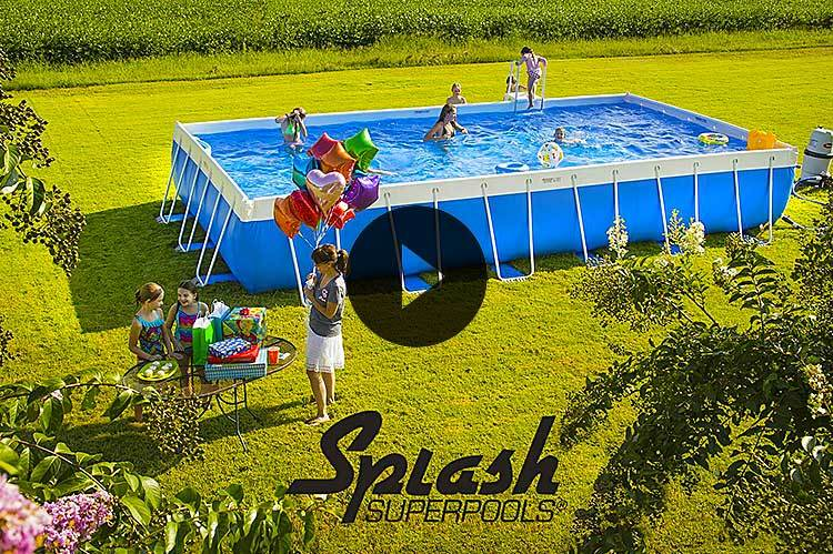 splash video